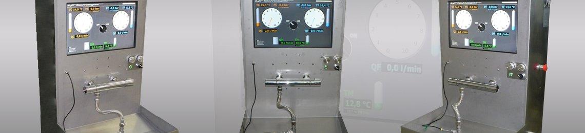 Pruf Stand Mischbatterie Thermostatmischer