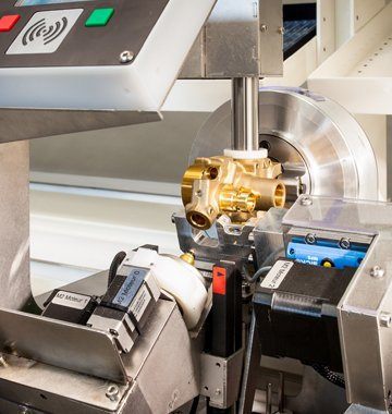 Linie Montage Kontrolle automatisiert