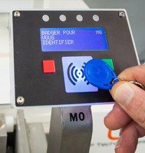 System Identifizierung Badge RFID