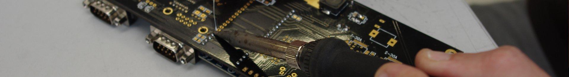 Montage elektronisch Schweissen