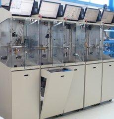 Prufstand hydraulisch Dauerbelastung Mischbatterie