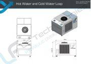Plan Warm und Kaltwasserkreislauf