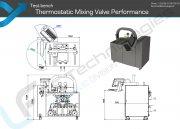 Leistungs Prufstand Thermostatmischer