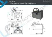 Prufstand Leistung mechanisch einstellbar Mischbatterie